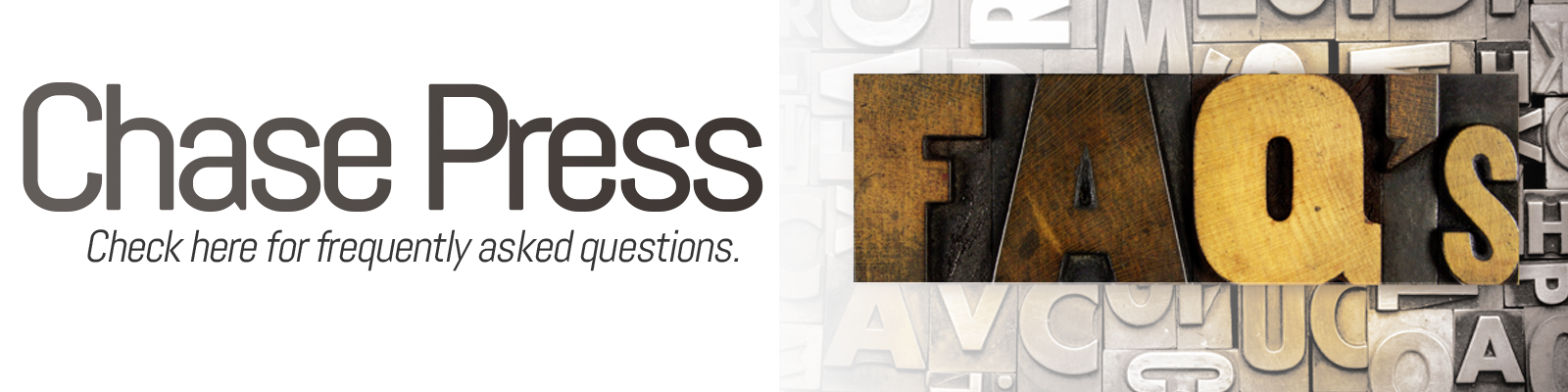 Frequently asked questions of online digital printing.